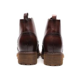 Brown moc boot