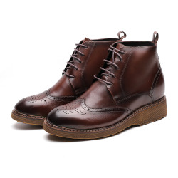 Elevator brown moc boot
