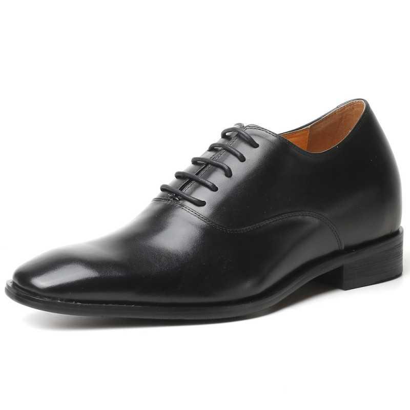 All-black elevator shoes