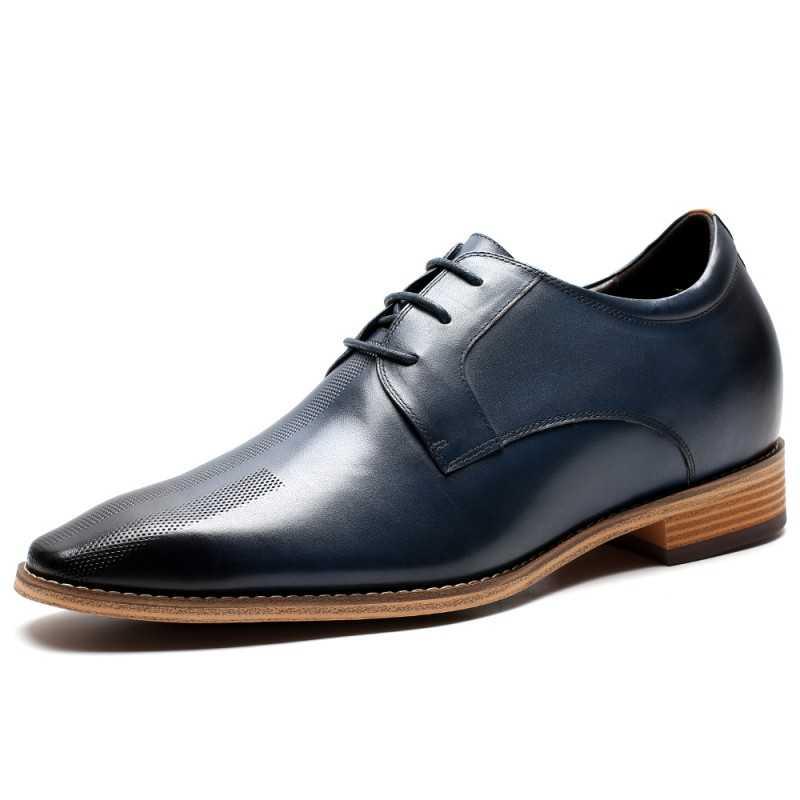 Navy blue Elevator Shoes
