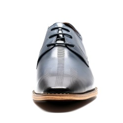 Navy blue Elevator Shoes +2,76 inches