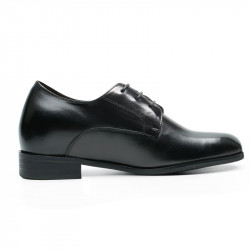 plain black wedding elevator shoes
