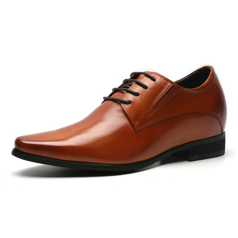 brown elevator shoes