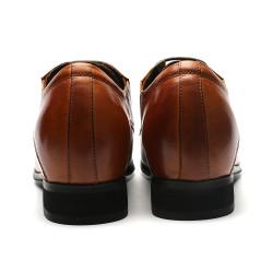 Brown Elevator Shoes Antonio +3,15 Inches