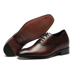 Increasing shoes dark brown